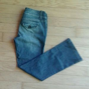 New York and Company petite bootcut jeans